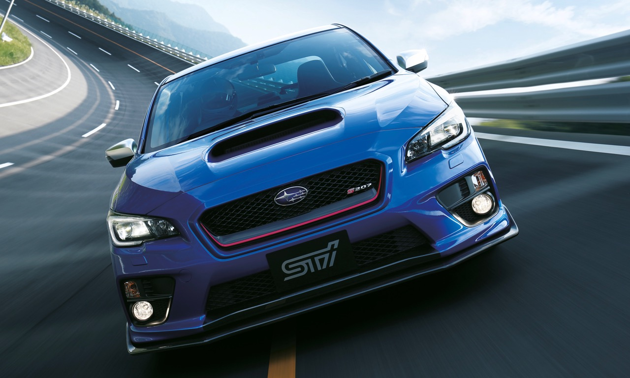 Subaru WRX STi S207 Sonderedition für Japan