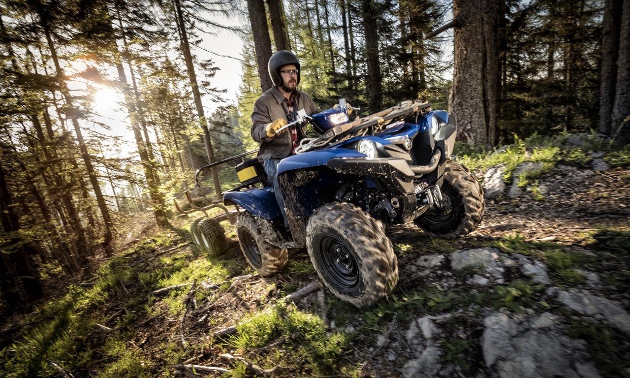 Yamaha Grizzly 700 EPS mit mehr Leistung ab 2016