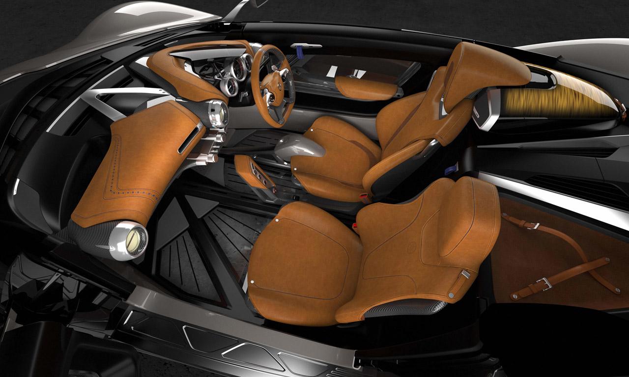 Yamaha Sports Ride Konzept von Gordon Murray Interieur