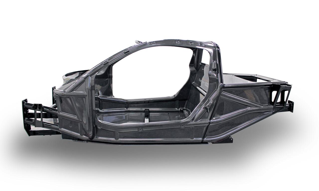 750 Kilogramm soll das Yamaha Sports Ride Konzept wiegen - dank einer speziellen Fertigungsweise des Rahmens mit Technologien aus der Formel 1