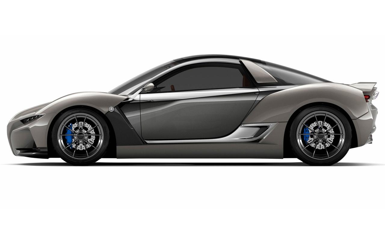 Yamaha Sports Ride Konzept von Gordon Murray Seite