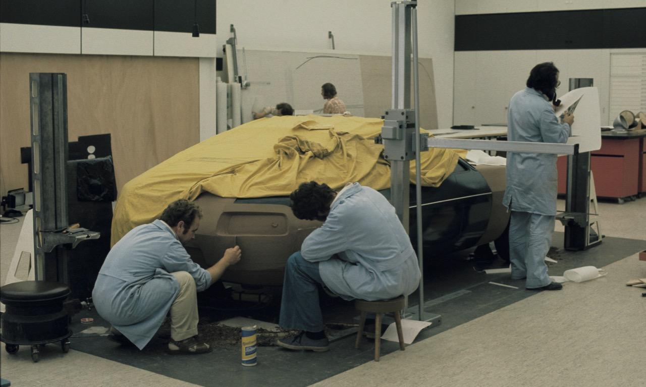 Die Entwicklung des Porsche 928 im Windkanal