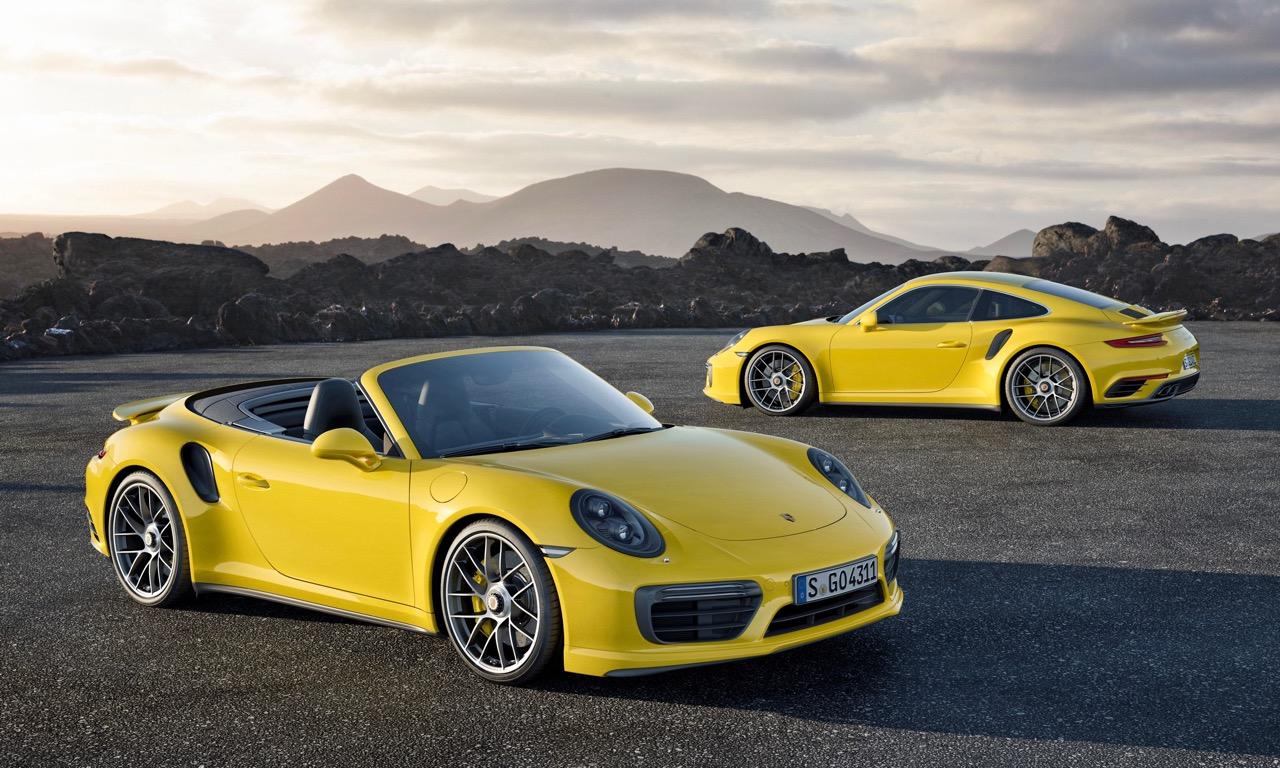 Neue Porsche 911 Turbo und Turbo S Modelle sind da!