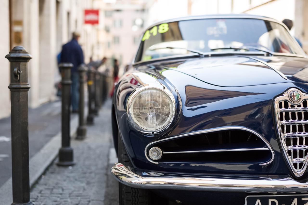 Alfa Romeo in den Straßen von Mailand