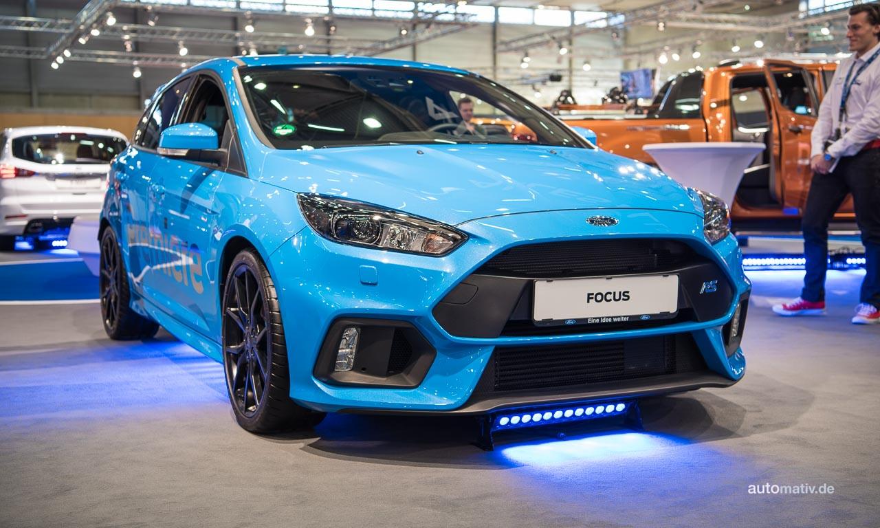 Ford Focus RS auf der Vienna Auto Show 2016 – ab März beim Händler