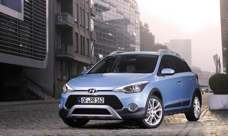 Hyundai i20 Active: 20 Millimeter mehr Bodenfreiheit