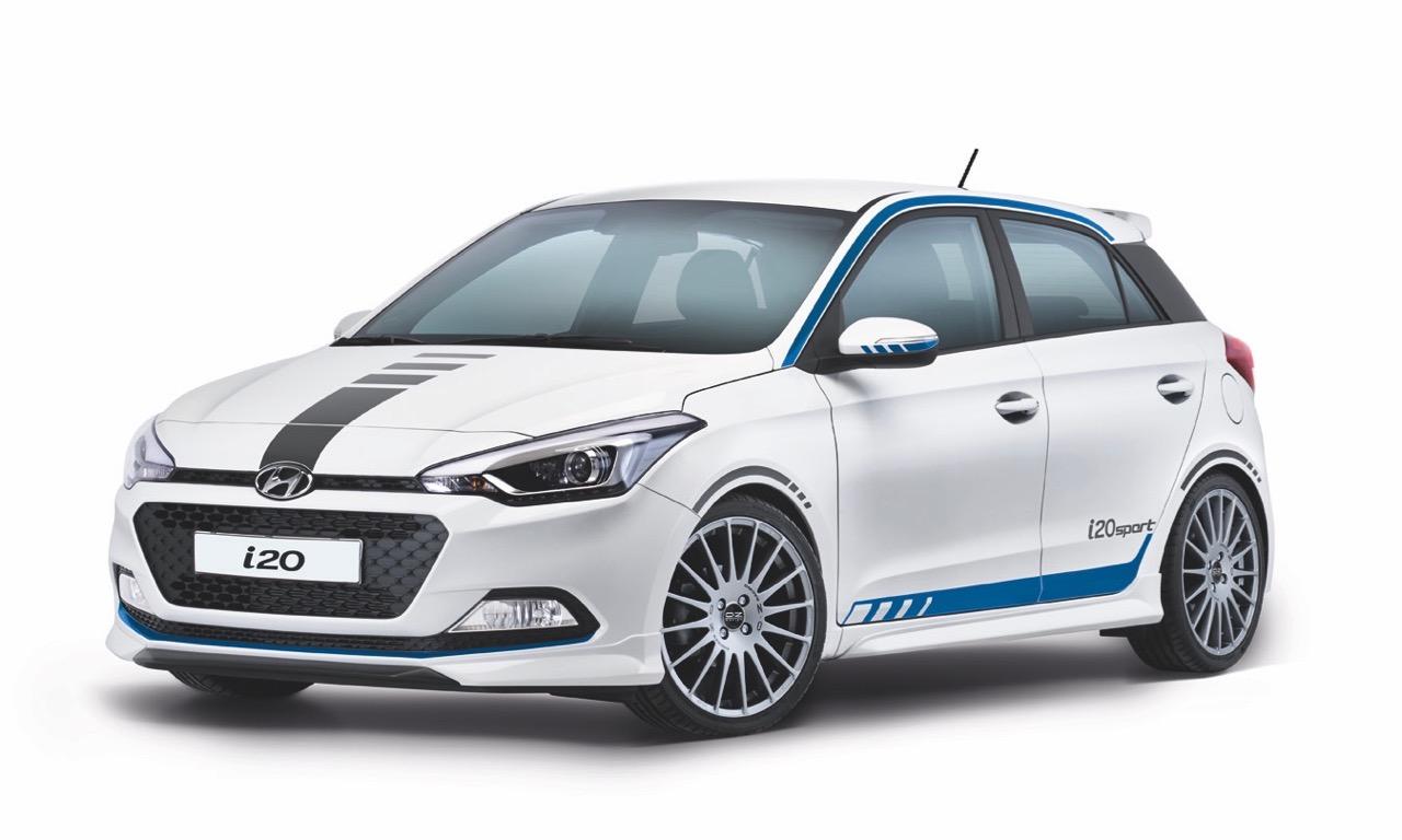 Die Variante des Hyundai i20 mit dem neuen 1,0 Liter Dreizylinder Turbomotor kommt etwas zu Aufgeblasen daher, finden wir.