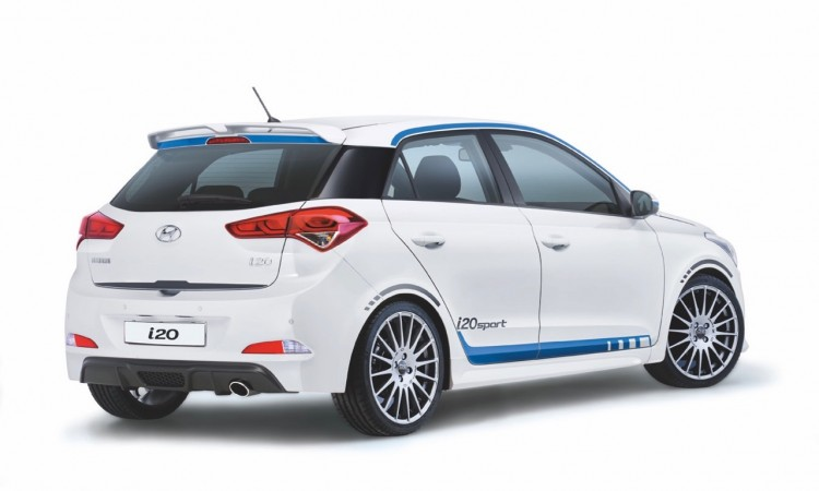 Hyundai i20: wieso um Himmels Willen nur ein Endrohr?!