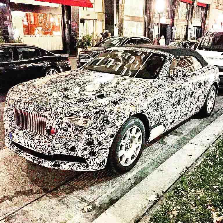 Rolls Royce Erlkoenig BMW 7er Cabriolet - Rolls-Royce kündigt neue Aluminium-Rahmen-Konstruktion an