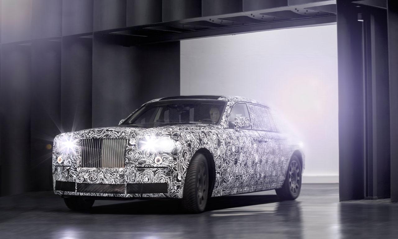 Rolls-Royce Test Mule Testfahrzeug Luxus