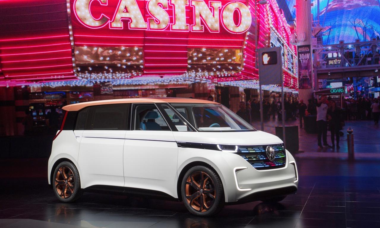 CES 2016 in Las Vegas Volkswagen Studie BUDD-e