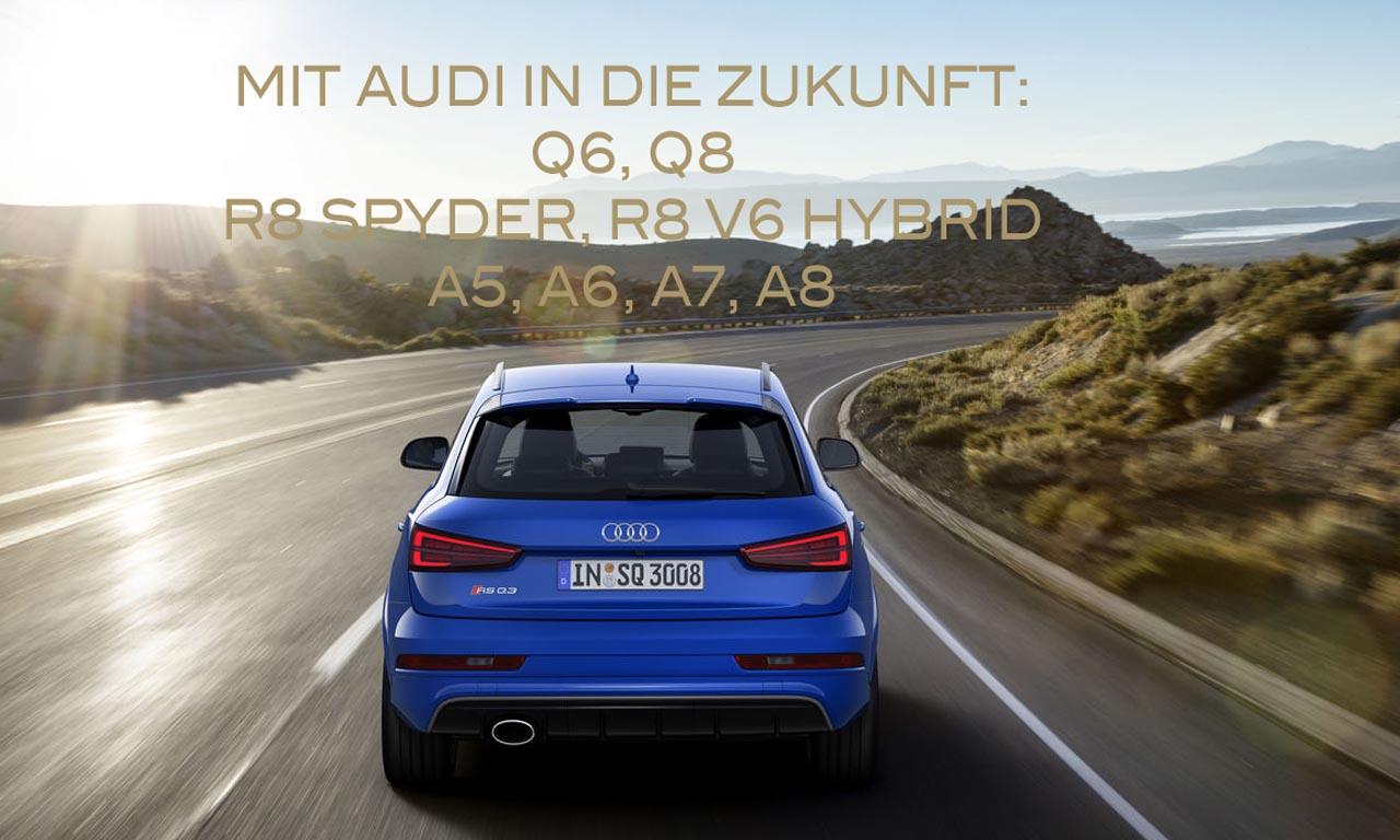 Mit Audi in die Zukunft