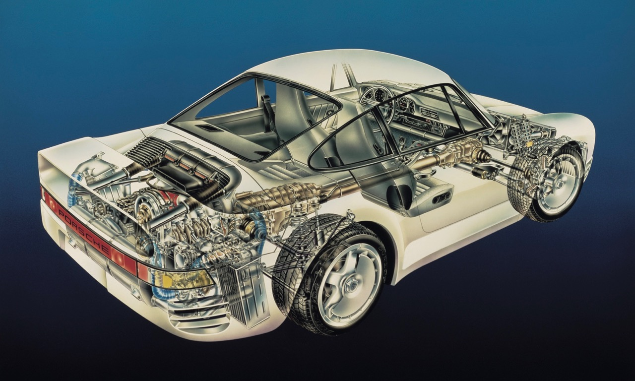 Porsche 959 Supersportwagen Der Achtziger 2 3