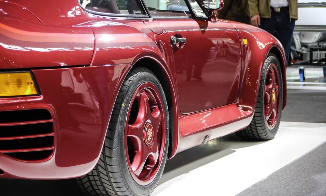 Ganz spezieller Porsche 959 von Porsche Exclusive für eine Adelsfamilie