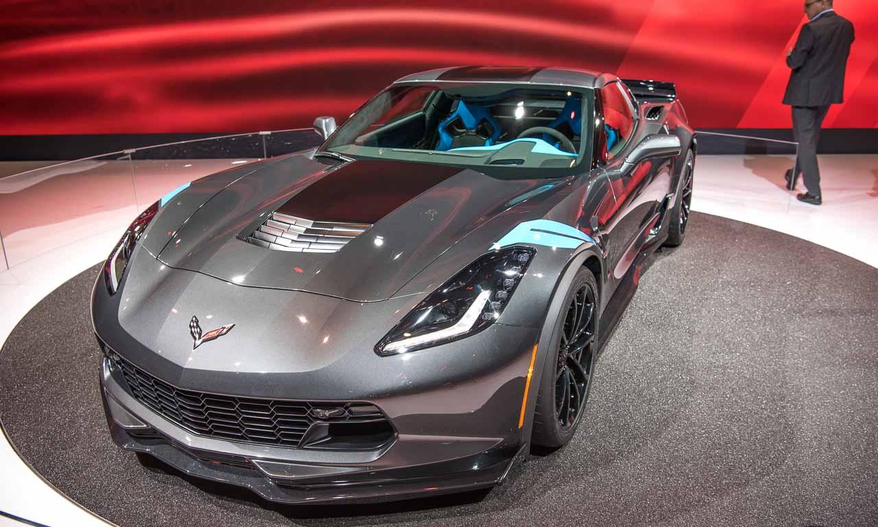Chevrolet Corvette Grand Sport auf dem Autosalon Genf 2016 - Die Chevrolet Corvette Grand Sport ist ein frei saugender V8-Athlet mit 460 PS