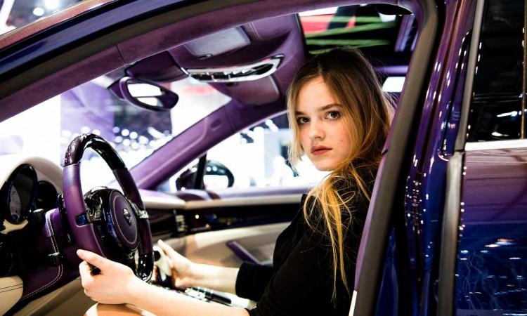 Das TechArt Coupé, die Details und Rebekka – Autosalon Genf 2016