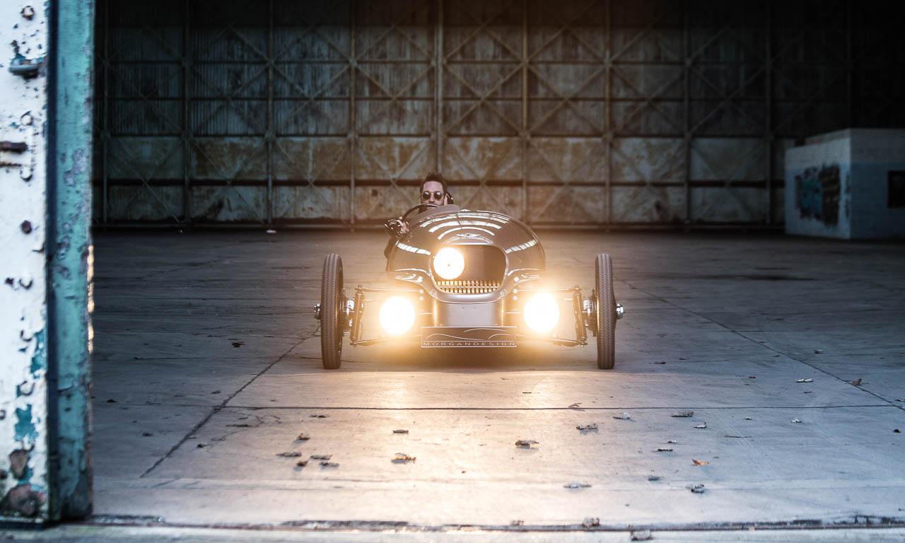 Morgan 3 wheeler, Morgan, Geneva Motor Show 2016, AUTOmativ.de, Benjamin Brodbeck, Sportwagen, Dreirad, das coolste Automobil der Welt