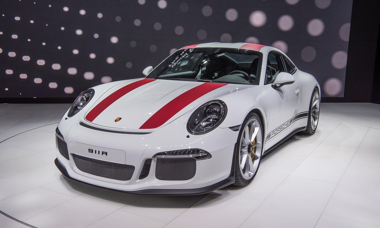 Porsche 911 R auf dem Autosalon Genf 2016, Porsche, AUTOmativ.de, Porsche 911 GT3, Porsche Carrera, Porsche Turbo, Sondermodell, Porsche Exclusive, Benjamin Brodbeck, Tilman Brodbeck, AUTOmativ.de