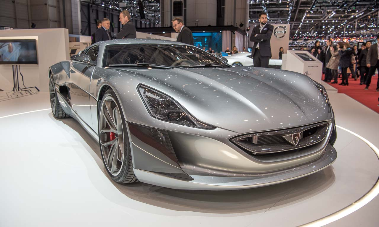 Rimac Concept One und Rimac Concept Two Hypercar Supersportwagen Sportwagen Elektroauto E-Sportwagen Tesla AUTOmativ.de Benjamin Brodbeck Autosalon Genf 2016