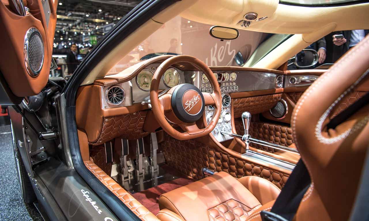 Spyker C8 Preliator, Victor Muller, Spyker, Sportwagen, Audi-Motor, Getriebe, Autosalon Genf 2016, New York Auto Show, Benjamin Brodbeck, AUTOmativ.de, TIlman Brodbeck