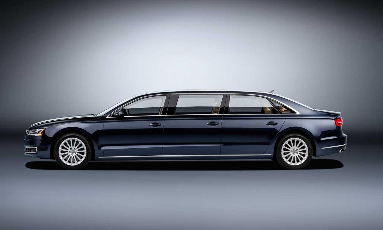 Oh Hey! Endlich genügend Beinfreiheit im A8 – Audi A8L Extended
