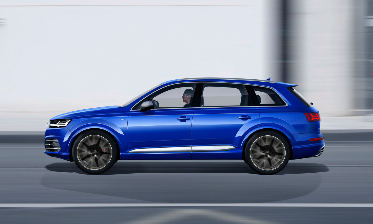 Audi Sq7 Tdi Neue Elektrische Lader Innovation