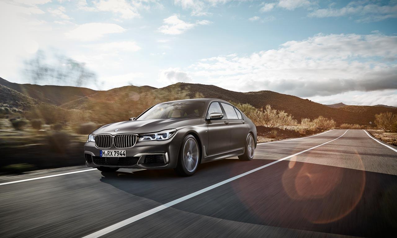 Selbst die 305 Km/h des BMW M760Li sind elektronisch abgeregelt