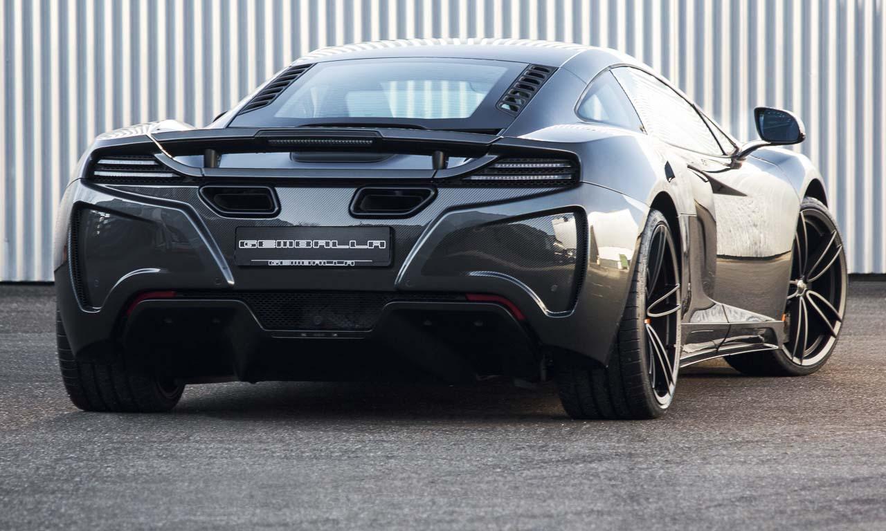 Gemballa GT McLaren 650S 3 - Gemballa GT: Chiptuning und Carbon für 33.900 Euro