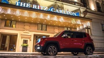 Durch die Wiener Nacht mit dem Jeep Renegade Limited – eine Bildergalerie