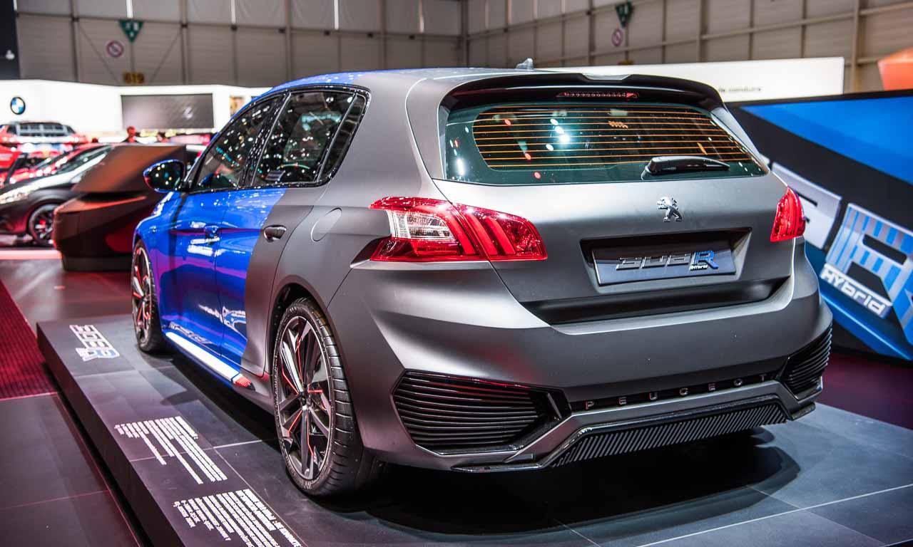 Peugeot-308-R-Rennzwerg-auf-dem-Autosalon-Genf-2016-Benjamin-Brodbeck-AUTOmativ.de-Volkswagen-Polo-GTI-VW-Golf-GTI-Golf-R