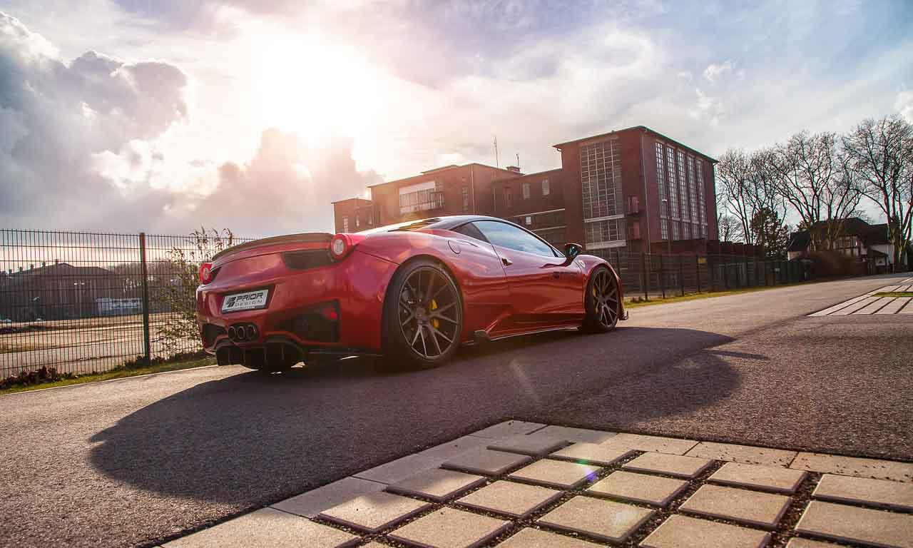 Prior Design veredelt den Ferrari 458 Italia!