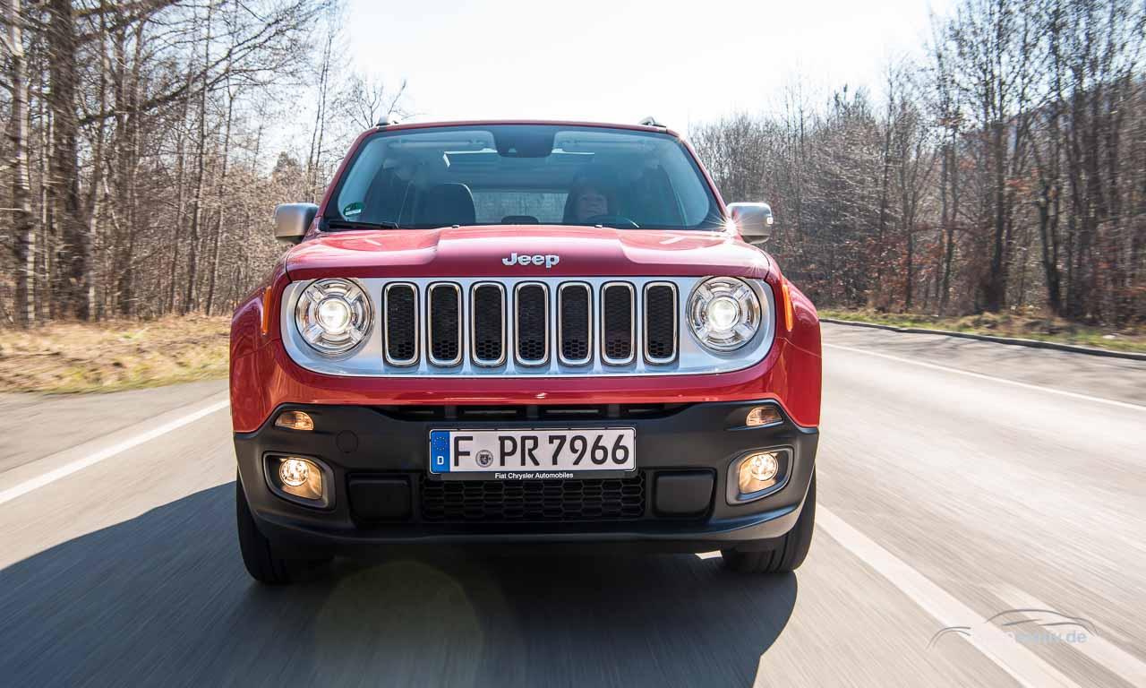 Fahrbericht Jeep Renegade: Das Auto