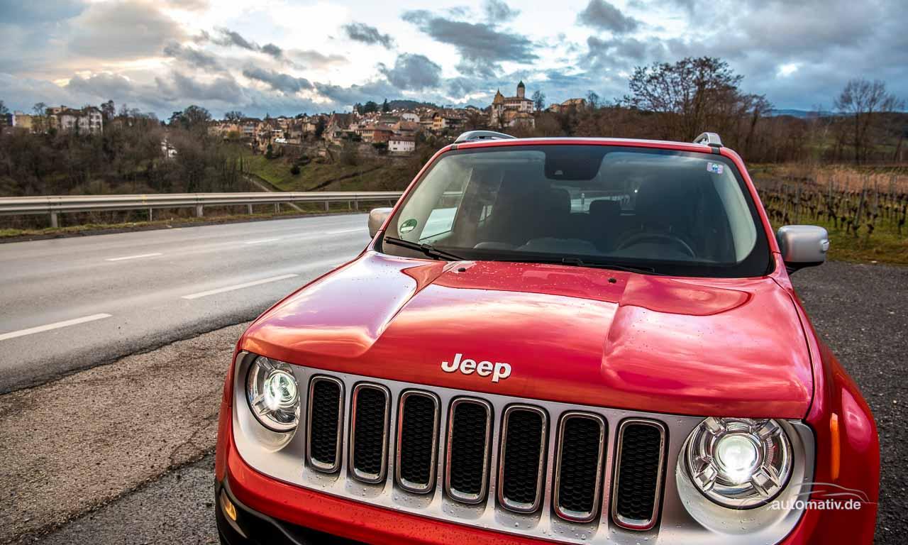 Nach Genf mit dem Jeep Renegade: Freier Blick auf Wolken – oder Sterne