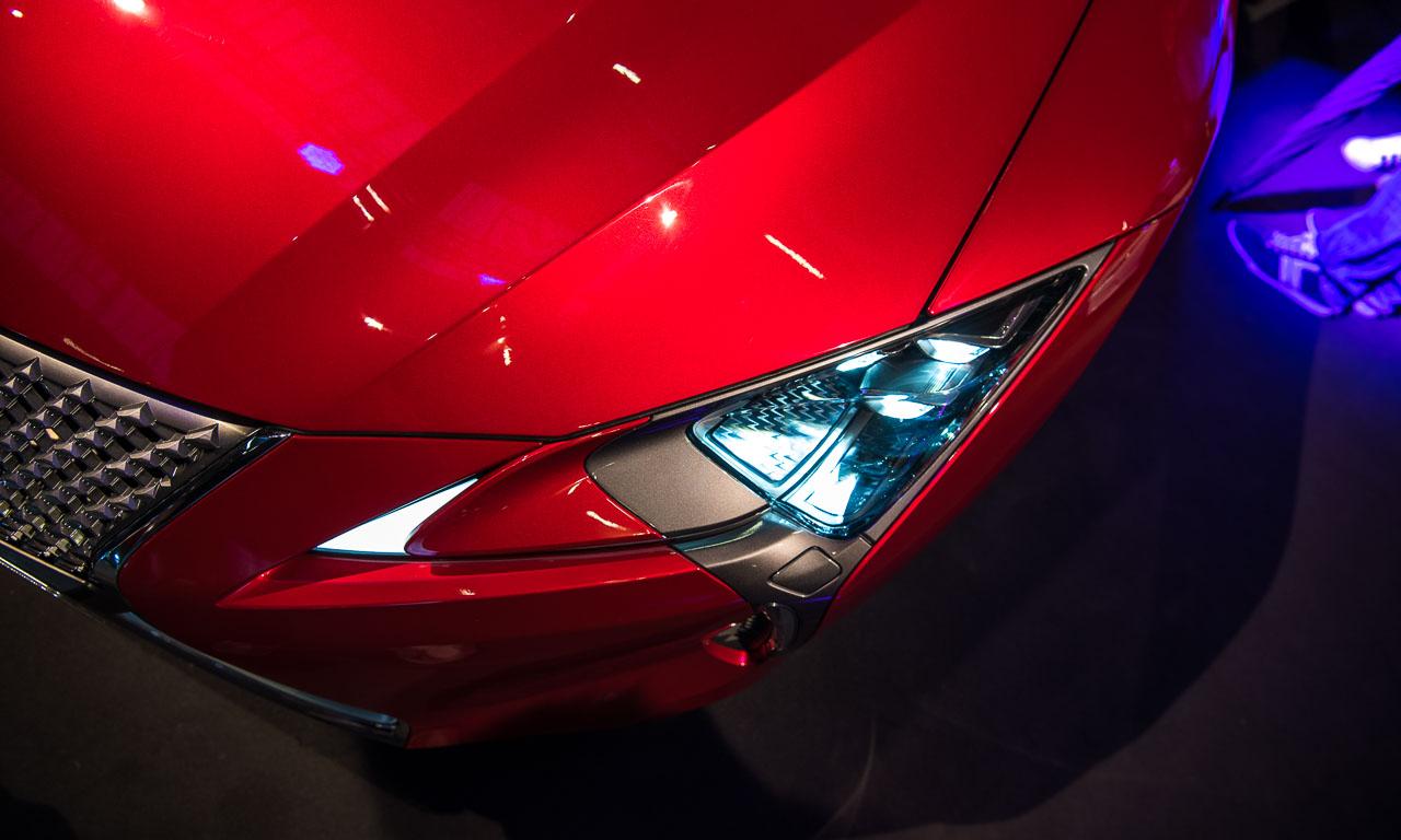 Lexus LC 500 AUTOmativ.de, Interieur, Exterieur, Sportwagen, IAA, Detroit, Luxus, Lexus, Sportcoupe, Benjamin Brodbeck
