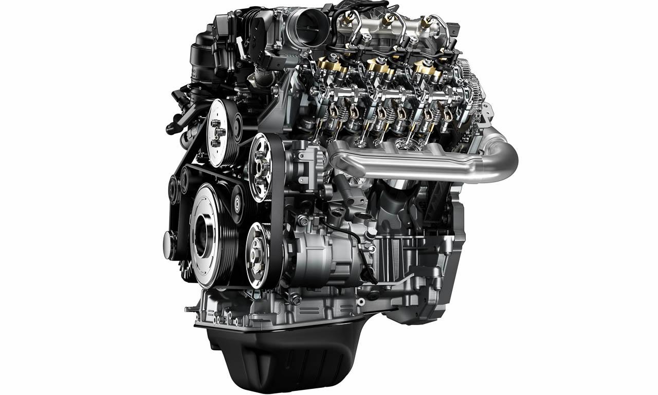 So sieht das neue V6-Triebwerk aus