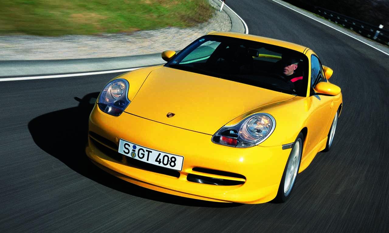 Porsche 911 996 GT3 - Finden wir das Lexus-Design auch noch in 10 Jahren so atemberaubend?
