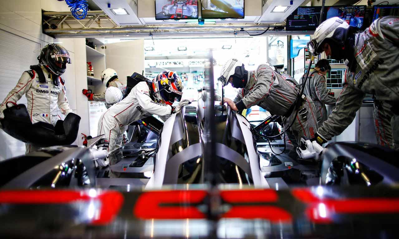 Porsche Team: Romain Dumas, Neel Jani (l-r)