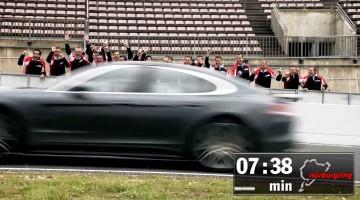 Der neue 2017 Panamera ist auf der Nordschleife schneller als die Alfa Romeo Giulia