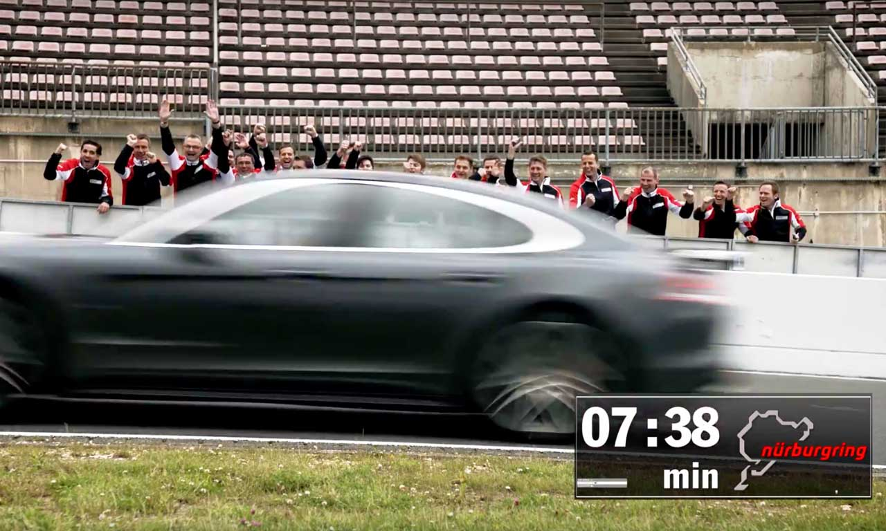 Porsche Panamera Turbo 2017 Rundenrekord Nordschleife