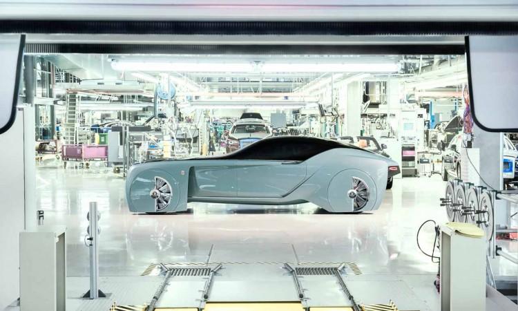 Der Rolls-Royce 103EX ist ein ganz besonderer (K)night Rider