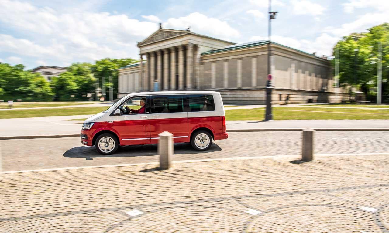 VW Multivan T6 Bus Generation Six AUTOmativ im Fahrbericht im Test Review Volkswagen Bus Bullie Benjamin Brodbeck