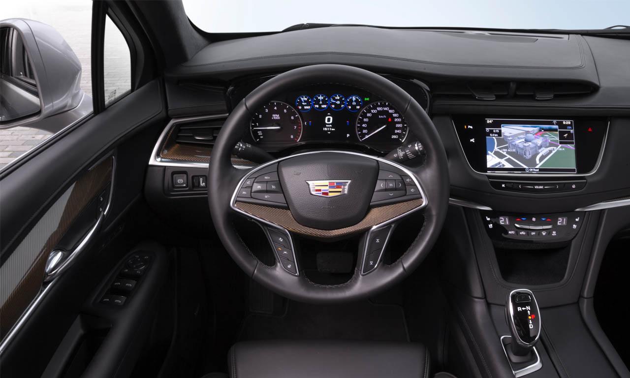 Cadillac Interieur - Fahrbericht Cadillac XT5: Neuer alter SRX zeigt noch mehr Kante