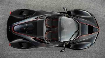 Der offene Ferrari LaFerrari ist für alle, die ihren 918 Spyder gegen die Wand gefahren haben
