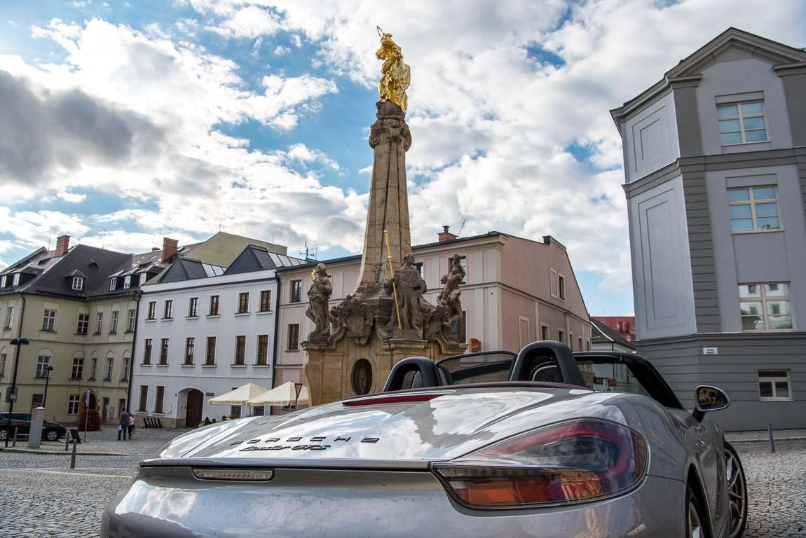 Ost-Europa-Tour Porsche Boxster GTS Stuttgart-Plzen-Prag-Bruenn-Olomouc-Wien-48