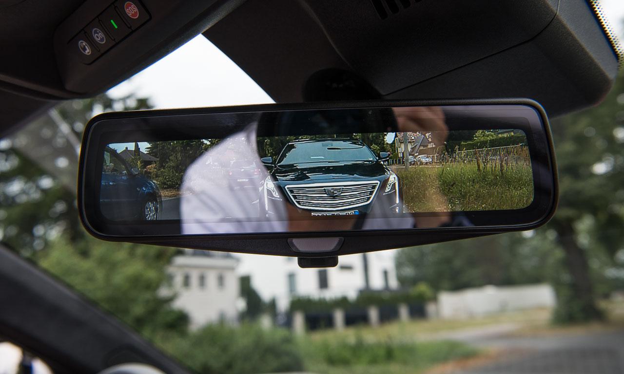Rückspiegel 1 - Der neue Cadillac CT6 ist perlweißer Luxus zum fairen Preis - Fahrbericht