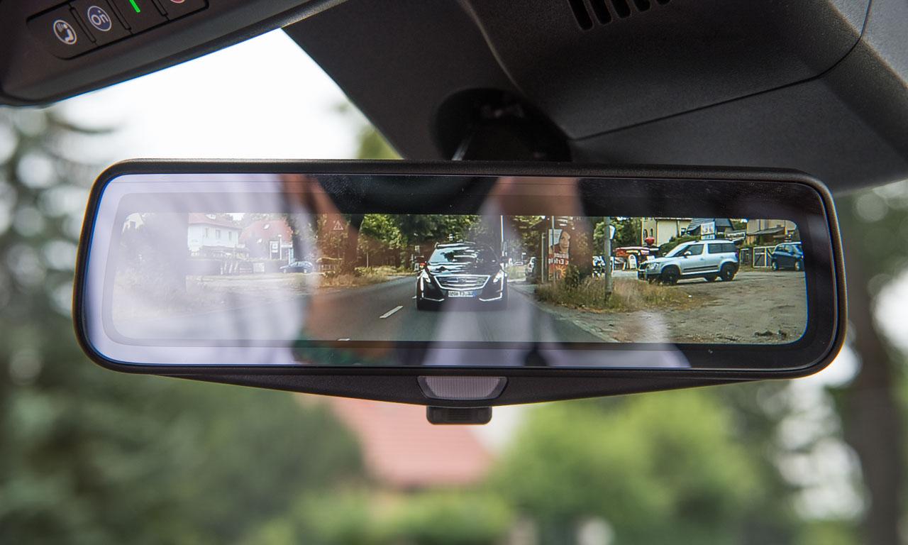 Rueckspiegel2 - Der neue Cadillac CT6 ist perlweißer Luxus zum fairen Preis - Fahrbericht