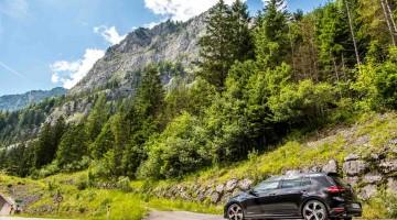 Mit dem VW Golf GTI Performance durch die Steiermark