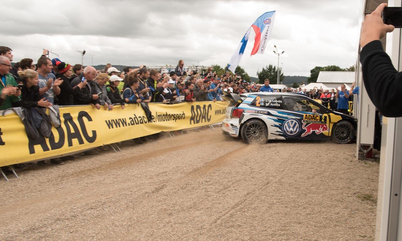 Rallye Deutschland mit Volkswagen und Sebastien Ogier AUTOmativ.de Benjamin Brodbeck VW Polo R WRC Sieg 12 - ADAC Rallye Deutschland 2016: Mit dem VW Polo R WRC Vollgas durch Trier
