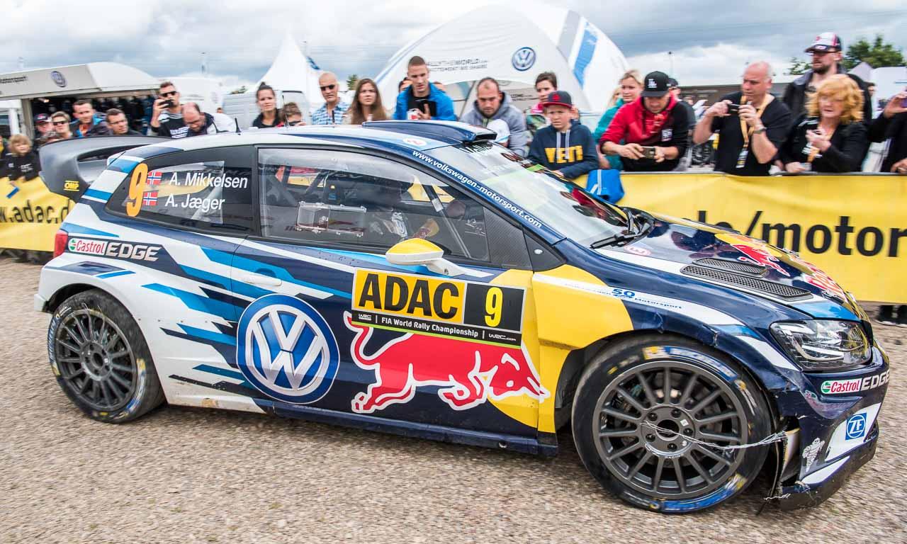 Rallye Deutschland mit Volkswagen und Sebastien Ogier AUTOmativ.de Benjamin Brodbeck VW Polo R WRC Sieg 18 - ADAC Rallye Deutschland 2016: Mit dem VW Polo R WRC Vollgas durch Trier