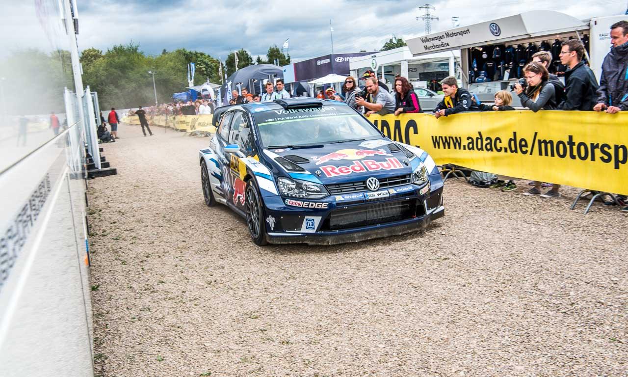 Rallye Deutschland mit Volkswagen und Sebastien Ogier AUTOmativ.de Benjamin Brodbeck VW Polo R WRC Sieg 26 - ADAC Rallye Deutschland 2016: Mit dem VW Polo R WRC Vollgas durch Trier